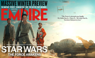Star Wars: The Force Awakens Empire covers