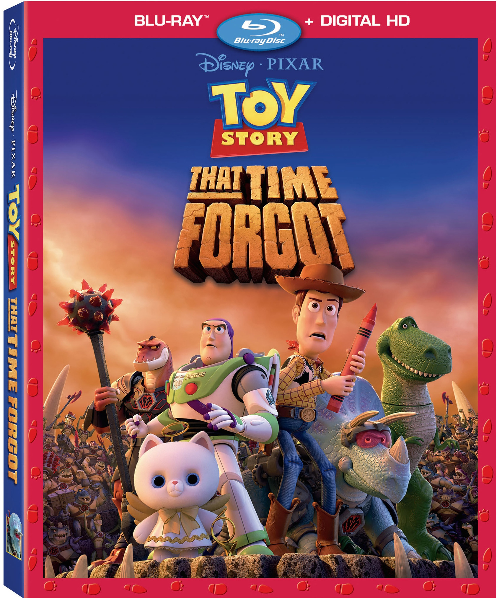 Toy story that time forgot blu ray dvd and digital for Toy story 5 portada