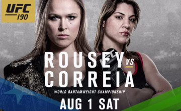 Watch UFC 190 online