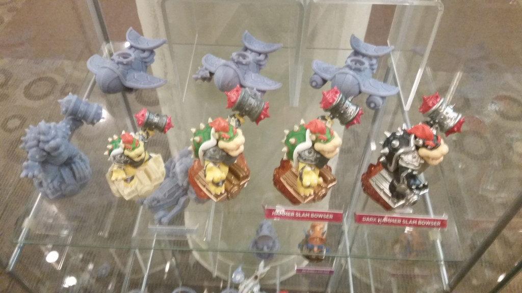 Skylanders SuperChargers amiibo Bowser prototypes