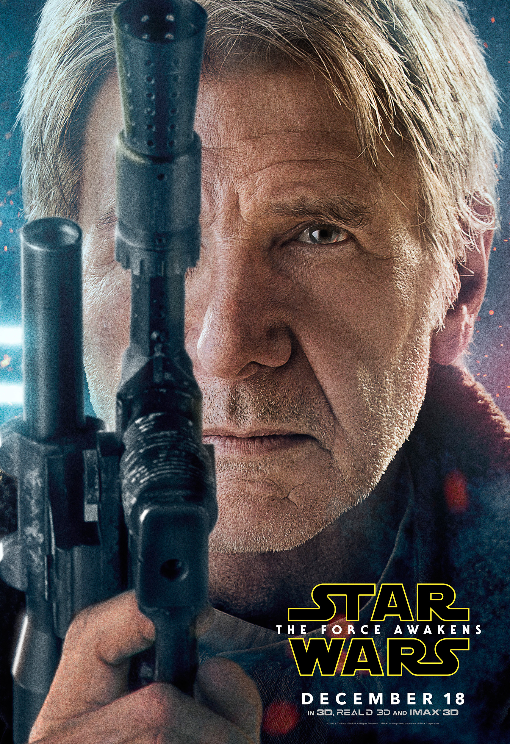 new star wars the force awakens character posters sizzle. Black Bedroom Furniture Sets. Home Design Ideas