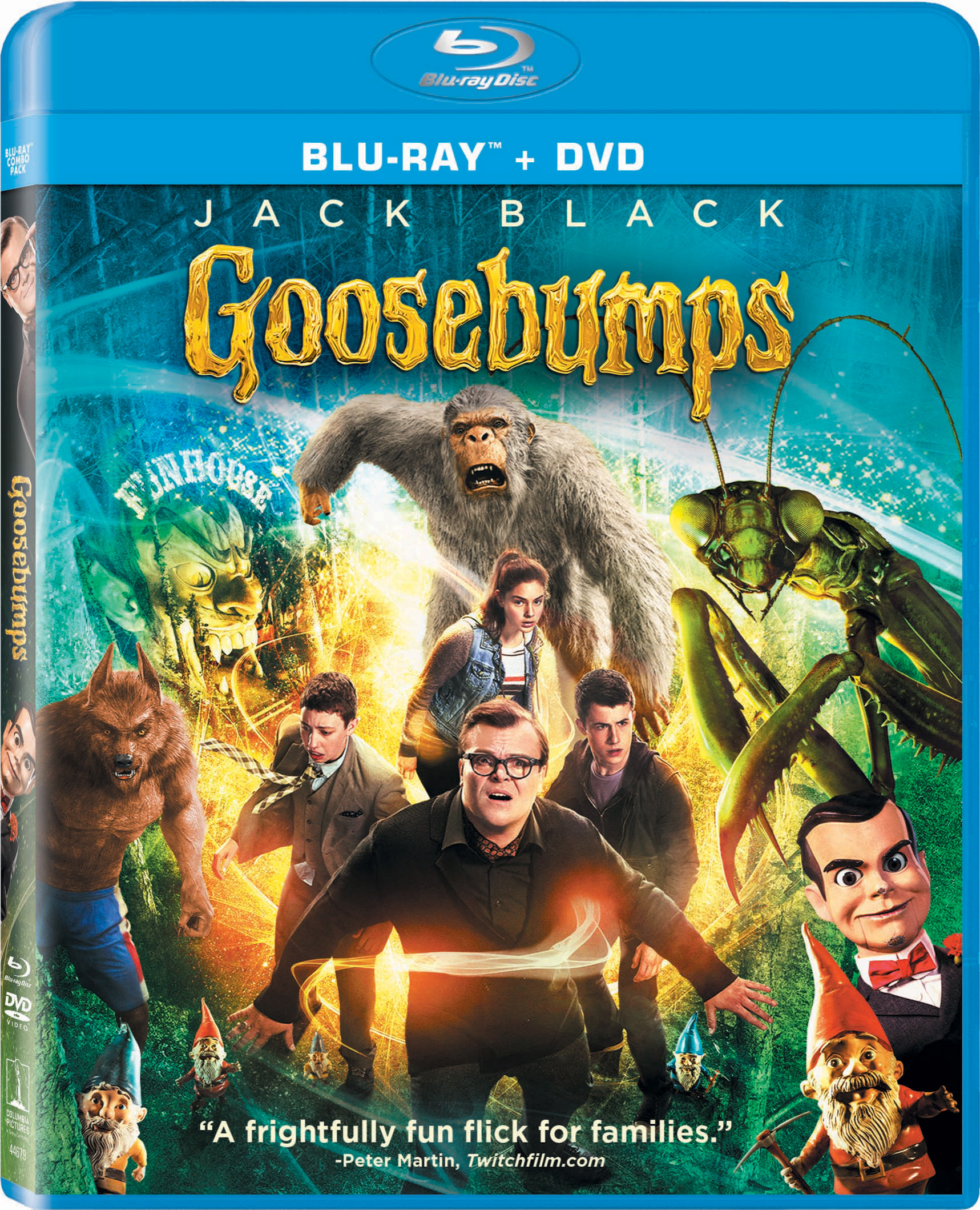 Goosebumps Headed To Blu Ray 3d Dvd And Digital In