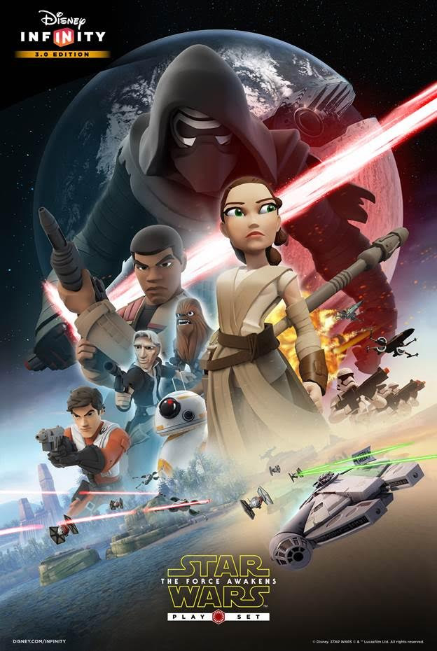 Star Wars The Force Awakens Poster Gets Disney Infinity