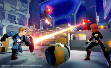Disney Infinity Marvel Battlegrounds news