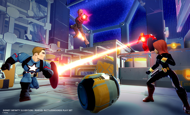'Disney Infinity 3.0 Edition' (ALL) Marvel Battlegrounds Pre-Order Gets You