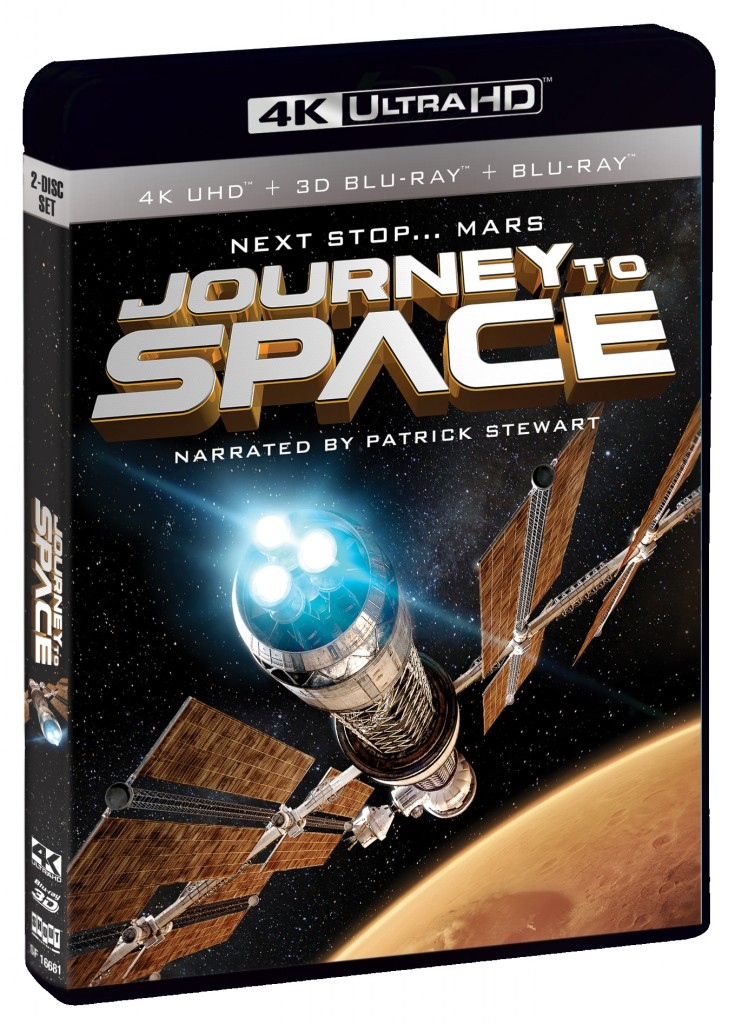 Journey to Space 4K Ultra HD Blu-ray cover art