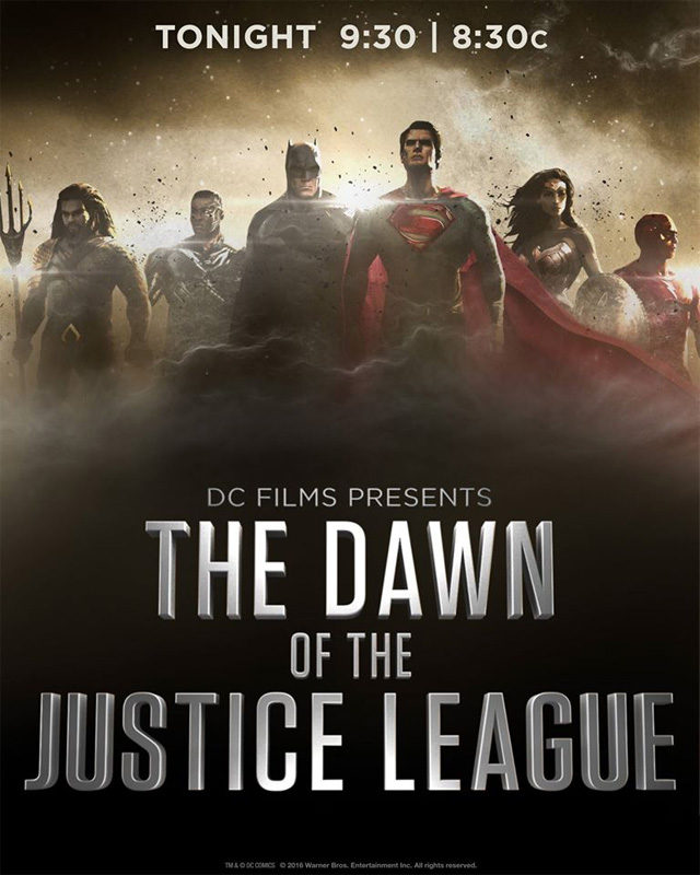 Justice League Movie Concept Art Drops Ahead Of Tonight's