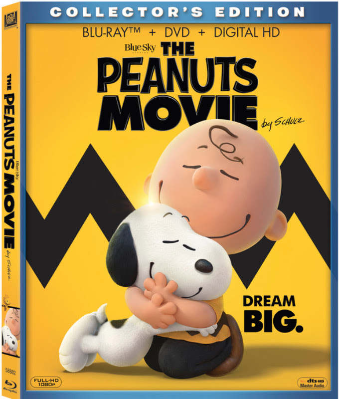 The Peanuts Movie Blu-ray, DVD and Digital Release Dates and Details ...