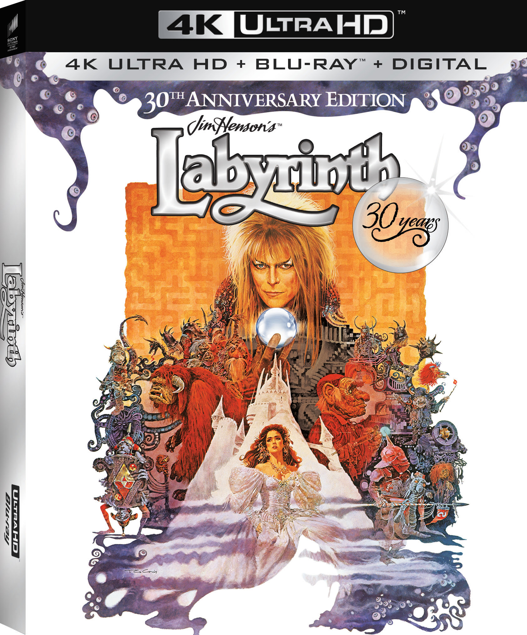 Labyrinth 30th Anniversary Starring David Bowie Gets 4K
