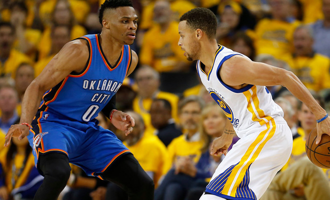 NBA  Oklahoma City Thunder rout Golden State Warriors in