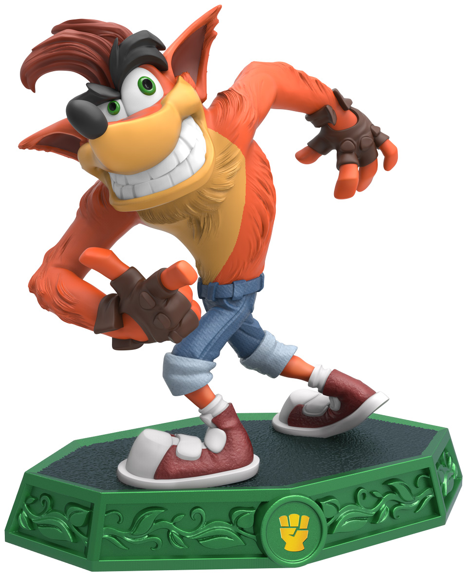 Crash bandicoot joins skylanders imaginators see the toy - Image skylanders ...