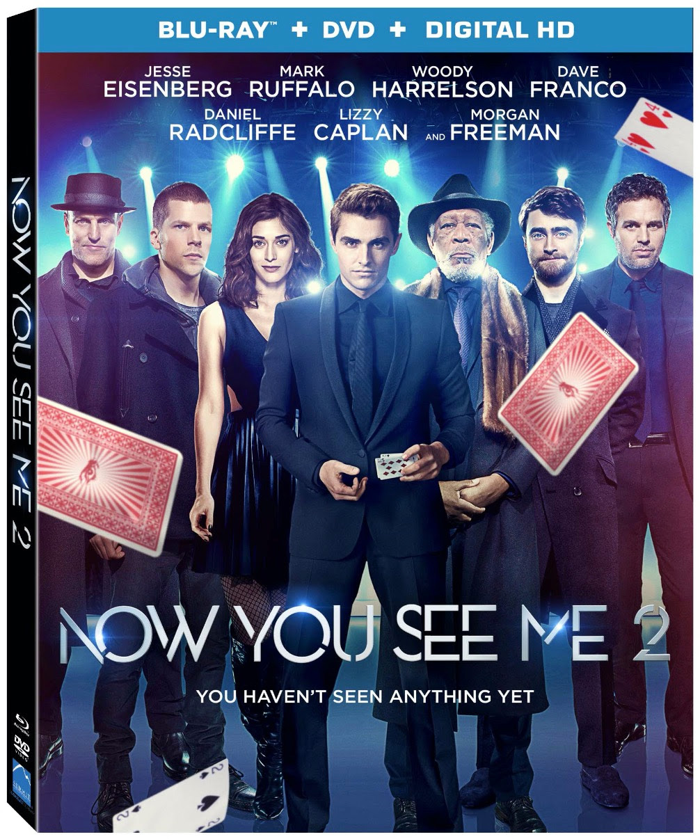 Warriors Vs Knights Live Stream Free: Now You See Me 2 4K, Blu-ray, DVD And Digital HD Release