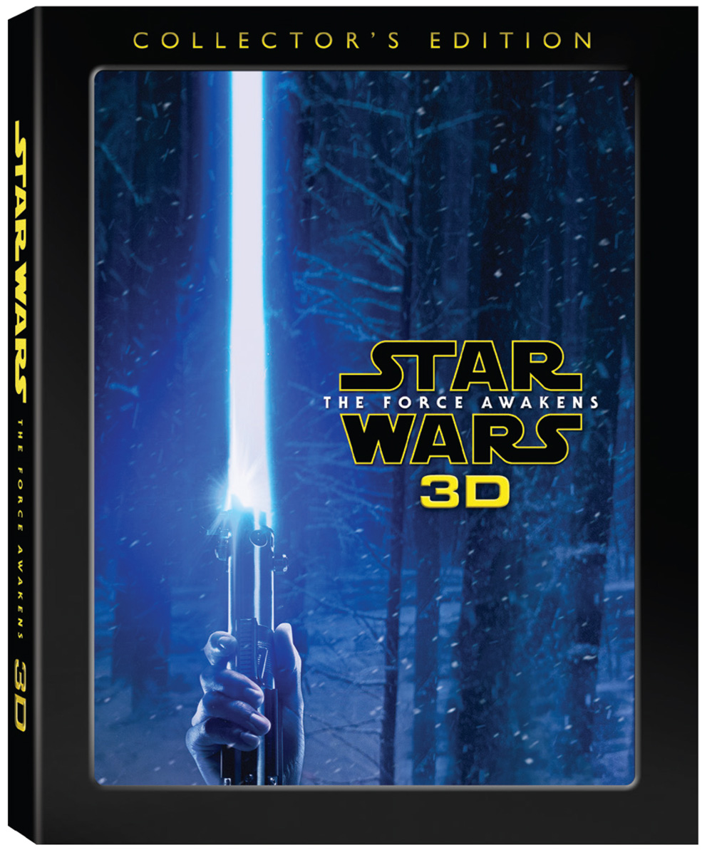 Star Wars: The Force Awakens 3D Collector's Edition Blu