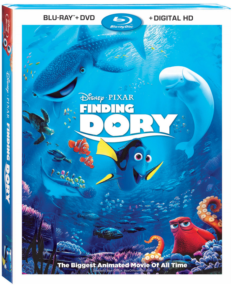 Disney's Finding Dory Swimming to Blu-ray 3D and More This ...