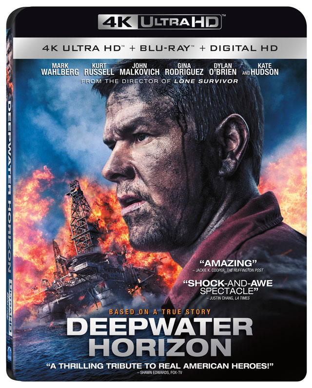 Deepwater Horizon Digital Hd This Year 4k Blu Ray And