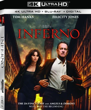 Inferno 4K Blu-ray cover art