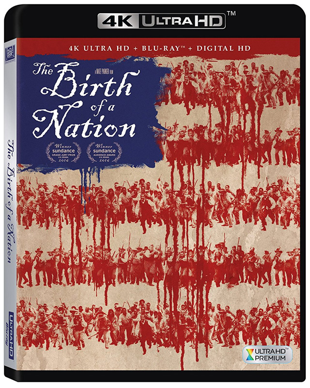 The Birth of a Nation 4K Blu-ray cover art