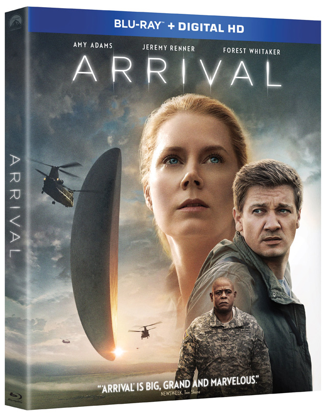 Arrival Blu-ray Cover Art