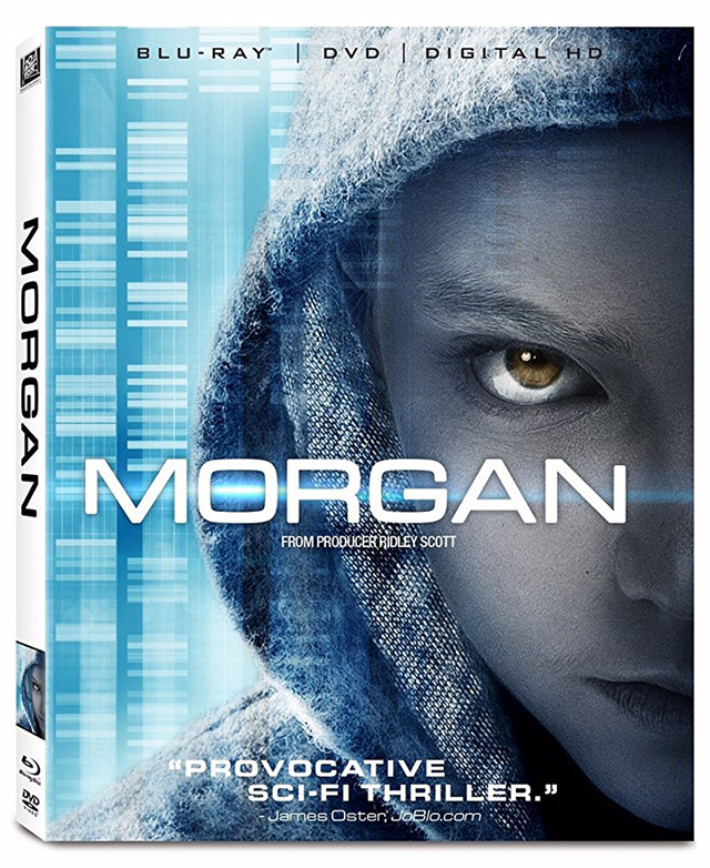 Morgan Blu-ray cover art