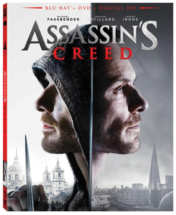 Assassin's Creed Blu-ray cover art