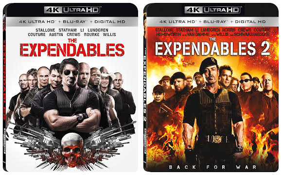 'The Expendables' and 'The Expendables 2' Bound for 4K ...