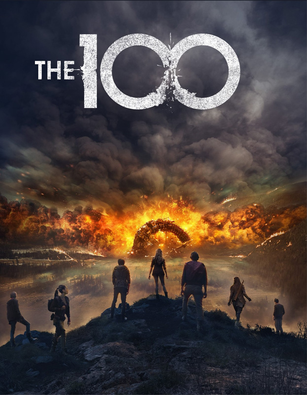 The 100 Season 4 Key Art