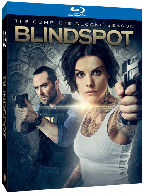 Blindspot Season 2 Blu-ray Cover Art