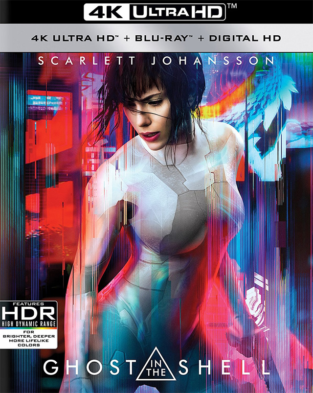 Ghost in the Shell' 4K, 3D, Blu-ray, DVD and Digital Release Date and ...