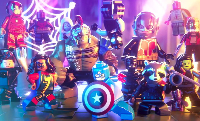 Announcement trailer for LEGO Marvel Super Heroes 2 now online
