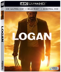 Logan 4K Blu-ray cover art