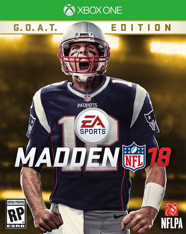 'Madden NFL 18' Cover Belongs to Tom Brady - TheHDRoom