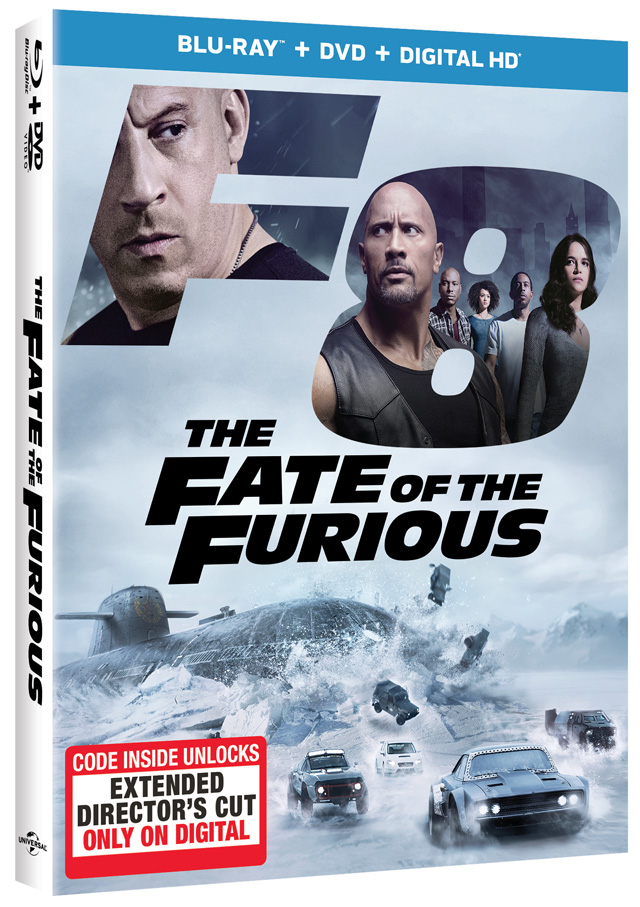 The Fate of the Furious Blu-ray Cover Art