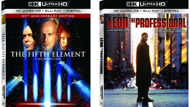 The Fifth Element 4K Blu-ray cover art
