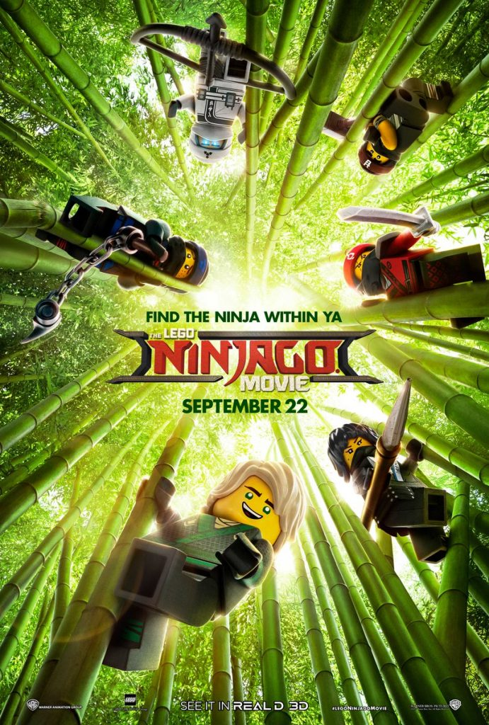 Second The LEGO Ninjago Movie Poster