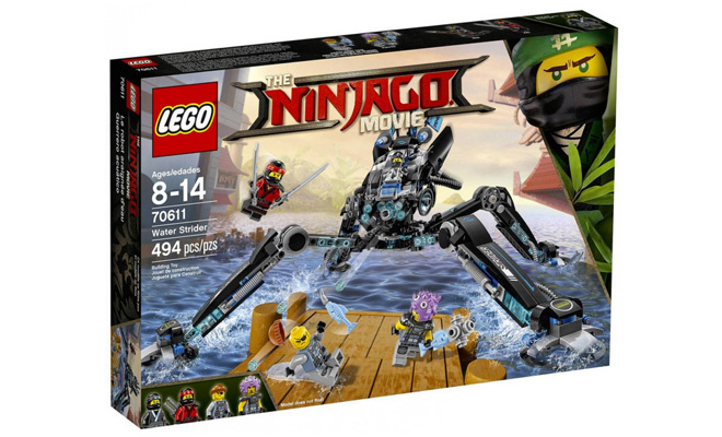 The LEGO Ninjago Movie' Water Strider is a Great Value at $30 ...