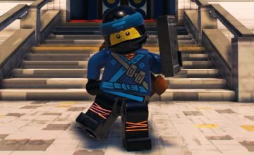 The LEGO Ninjago Movie Game Vignette