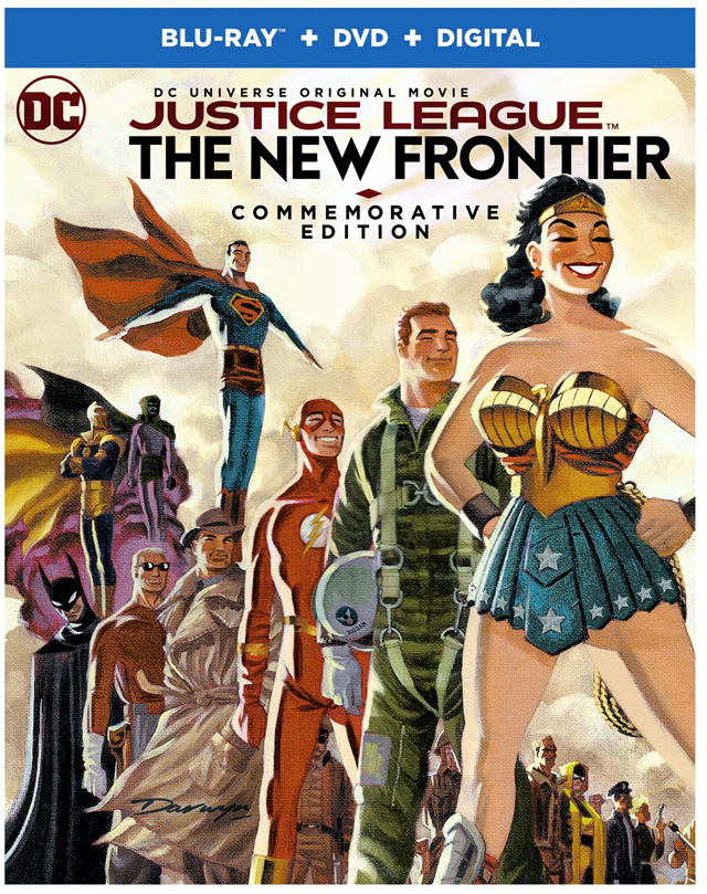 Justice League: The New Frontier Blu-ray cover art