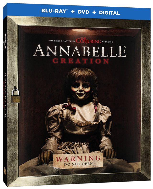 Annabelle: Creation Blu-ray cover art