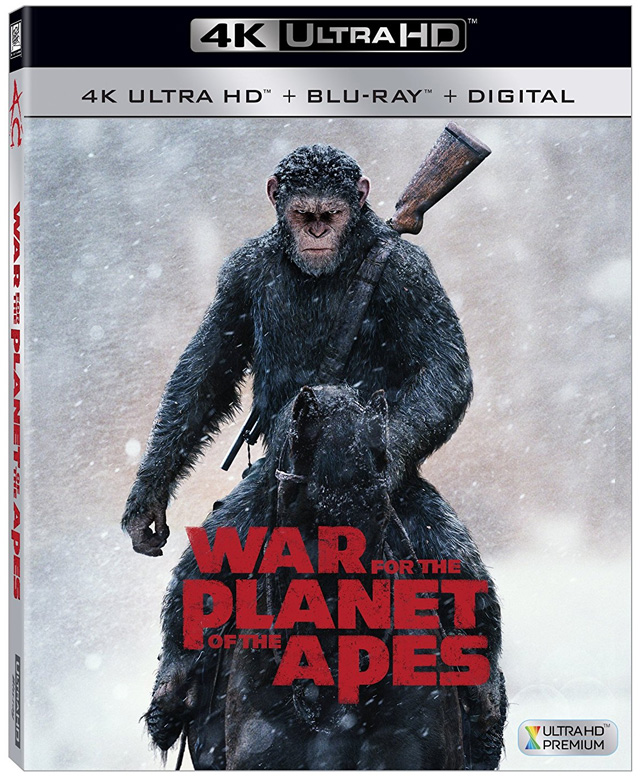 War for the Planet of the Apes 4K Cover Art
