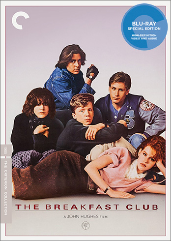 The Breakfast Club Criterion Collection Blu-ray Cover Art