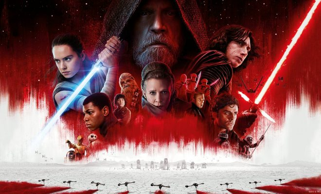 'Star Wars' passes 'Beauty and the Beast' as top 2017 earner