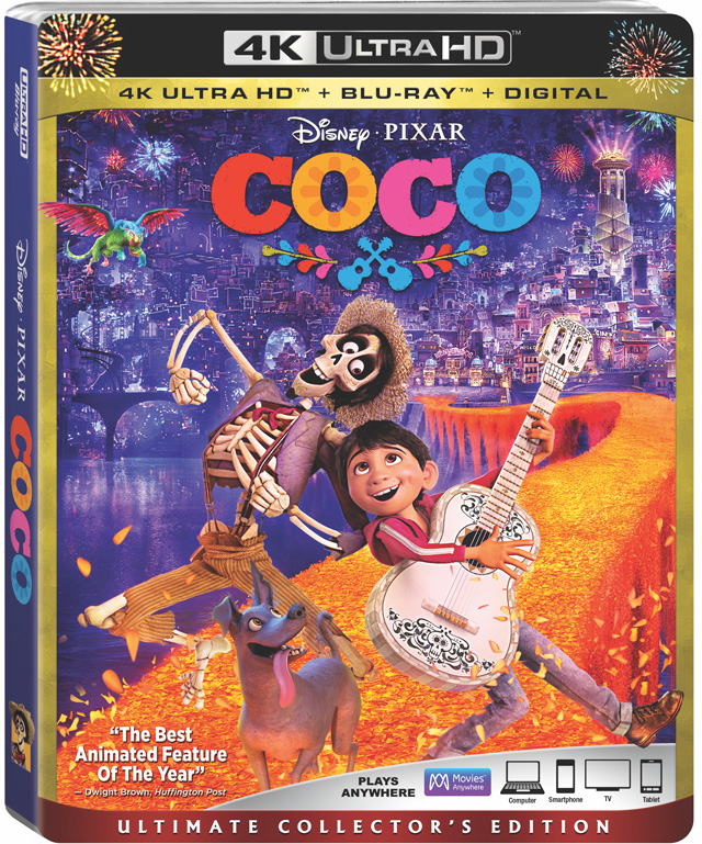 Pixar S Coco Blu Ray 4k Uhd And Digital Release Date And Details Thehdroom