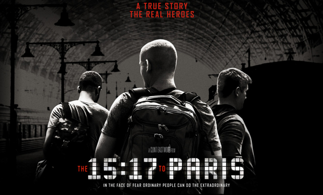 Real Heroes Play Themselves in Uneven Thriller 'The 15:17 to Paris'
