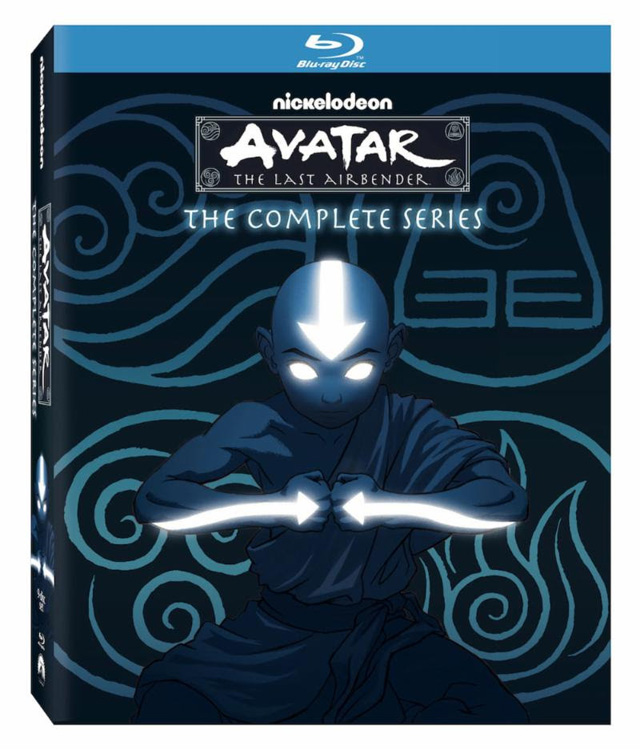 Avatar: The Last Airbender Complete Series Blu-ray Cover Art