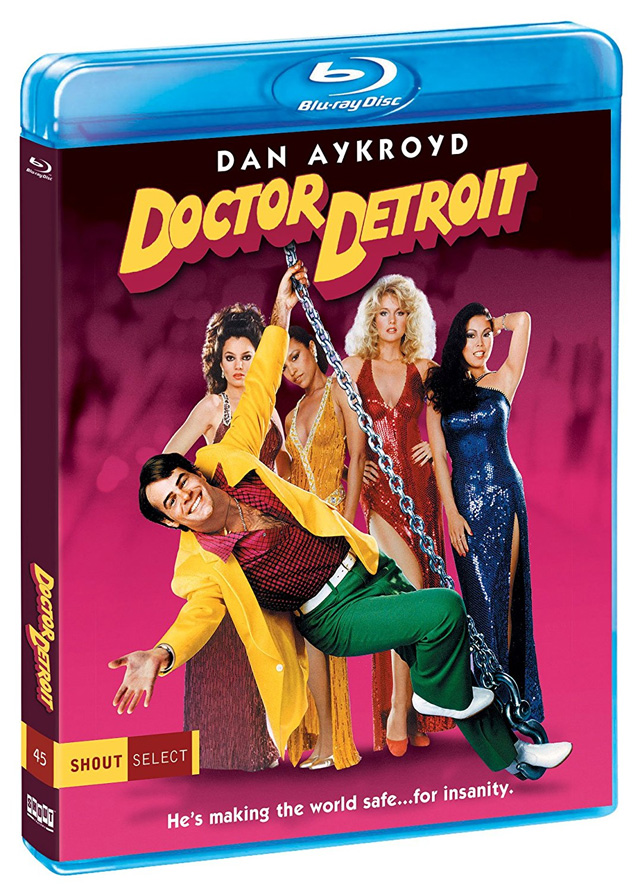 Doctor Detroit Blu-ray cover art