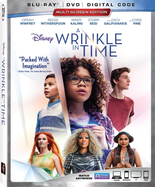 Wrinkle Time Blu Ray Cover Art Demi Lovato Release Date