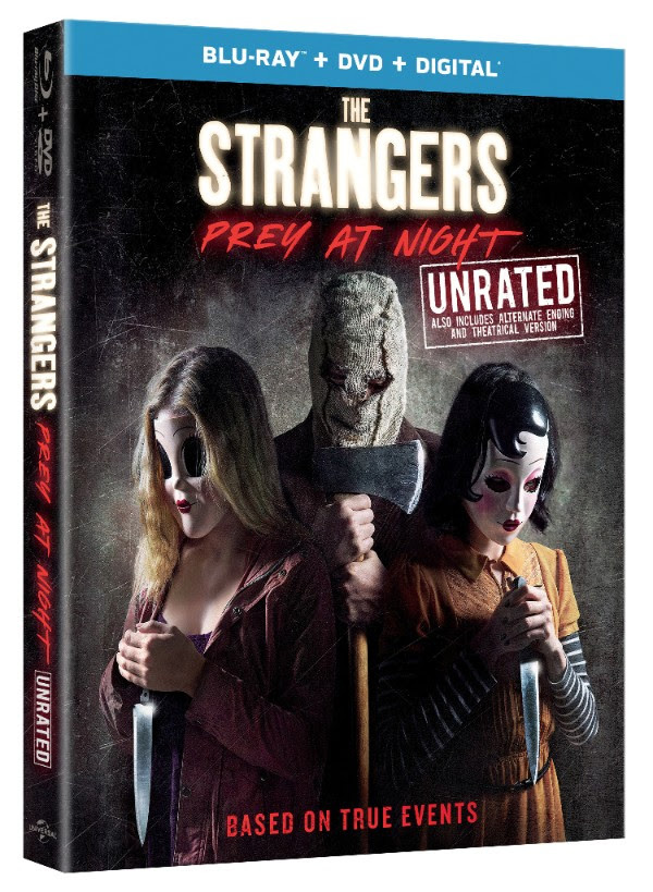 The Strangers: Prey at Night Blu-ray cover art