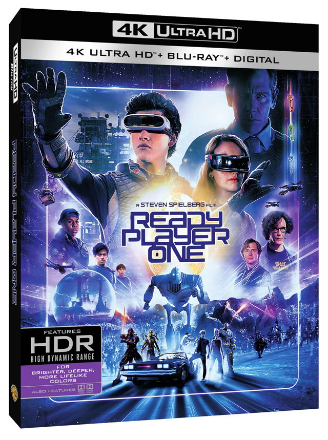 39 ready player one 39 4k blu ray 3d blu ray dvd and. Black Bedroom Furniture Sets. Home Design Ideas