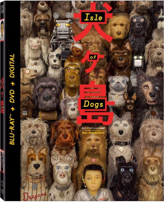 Wes Anderson's 'Isle Of Dogs' Blu-ray, DVD And Digital